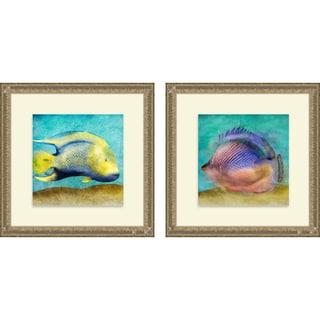Sd Graphics Studio 'Fish I & II' Framed Print