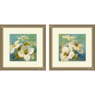 Lanie Loreth 'Bahama Breeze I & II' Framed Print