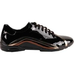 Men's GooDoo Classic 003 Black/Gold Patent Leather