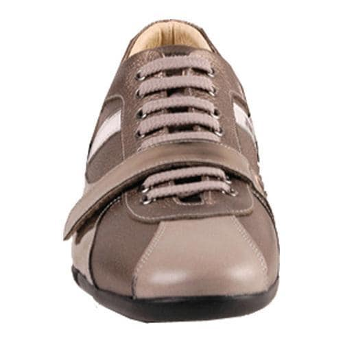 Men's GooDoo Classic 004 Bronze Leather/Silver Patent Leather