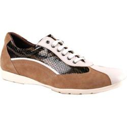 Men's GooDoo Classic 005 Brown Suede/Black Anaconda Print