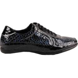 Men's GooDoo Luxury 001 Black/Navy Sheep Leather