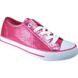 Women's Gotta Flurt Disco Hot Pink Textile/Sequin