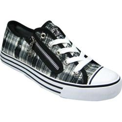 Women's Gotta Flurt Lenwood Black Plaid Canvas