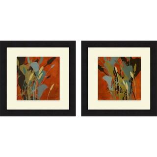 Lanie Loreth 'Urban Meadow I & II' Framed Print