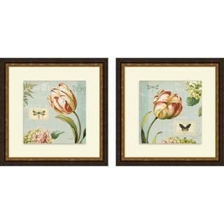 Lisa Audit 'Mother's Treasure I & II' Framed Print