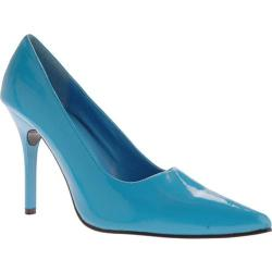 Women's Highest Heel Classic Turquoise Patent