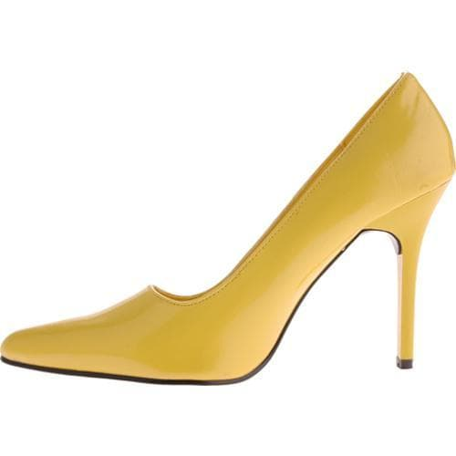 Women's Highest Heel Classic Yellow Patent