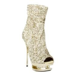 Women's Highest Heel Diamond-31 Gold Sequin