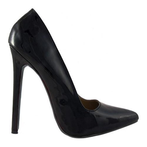 Women's Highest Heel Hottie Black Patent