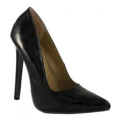 Women's Highest Heel Hottie Black Patent