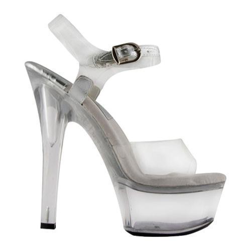 Women's Highest Heel Sandra Clear Vinyl