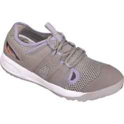 Women's Propet Adventure Light Gray/Lilac