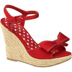 Women's Pin Up Summer 08 Red Canvas