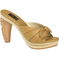 Women's Pin Up Tiki 102 Camel Leather