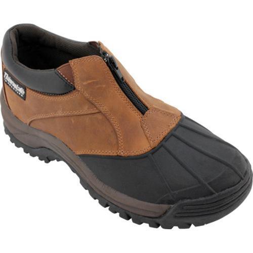 Men's Propet Blizzard Ankle Zip Brown/Black