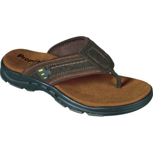 Men's Propet Breaker Dark Brown/Rust