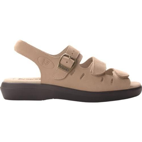 Women's Propet Breeze Walker Dusty Taupe Nubuck
