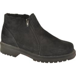 Women's Propet Butte Black Suede