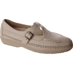 Women's Propet Cafe Walker Beige Smooth