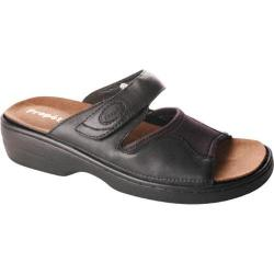 Women's Propet Edgewater Walker Black Nappa