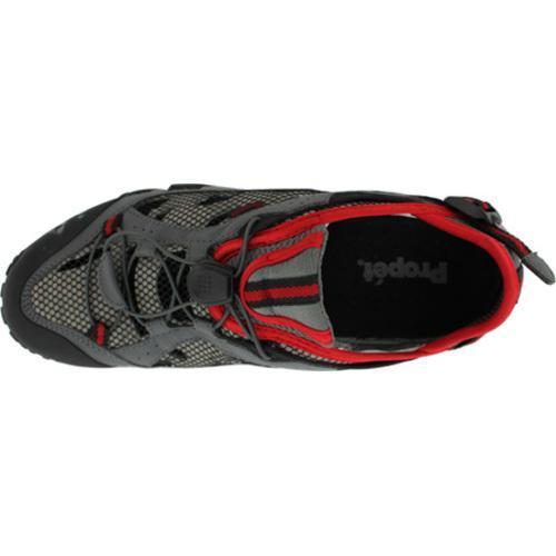 Men's Propet Endurance Black/Grey/Red