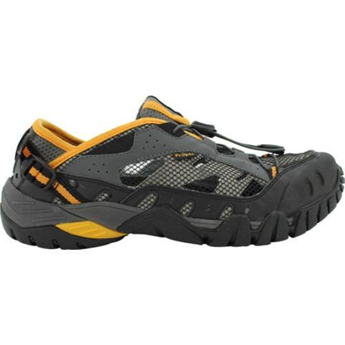 Men's Propet Endurance Black/Grey/Yellow