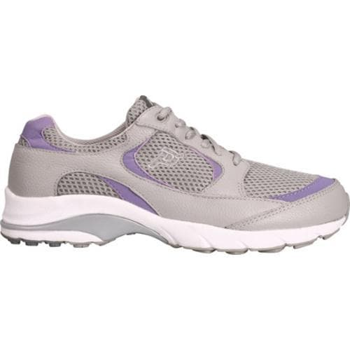 Women's Propet Journey Light Gray/Lilac