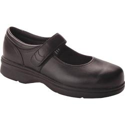Women's Propet Mary Jane Walker Black Smooth