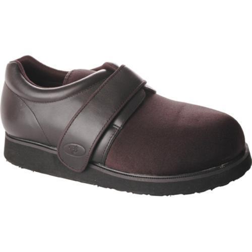 Men's Propet Ped Walker 3 Black Smooth Leather/Nylon