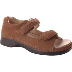 Women's Propet Pedic Walker Choco Nubuck