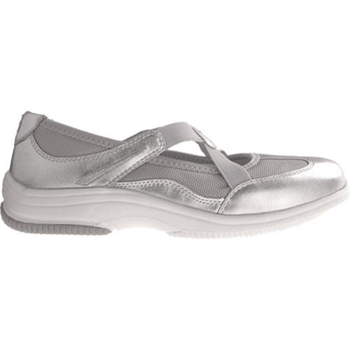 Women's Propet Sapphire Silver/Light Grey Mesh