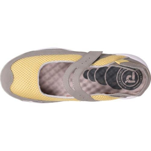 Women's Propet Scamper Light Grey/Pale Yellow