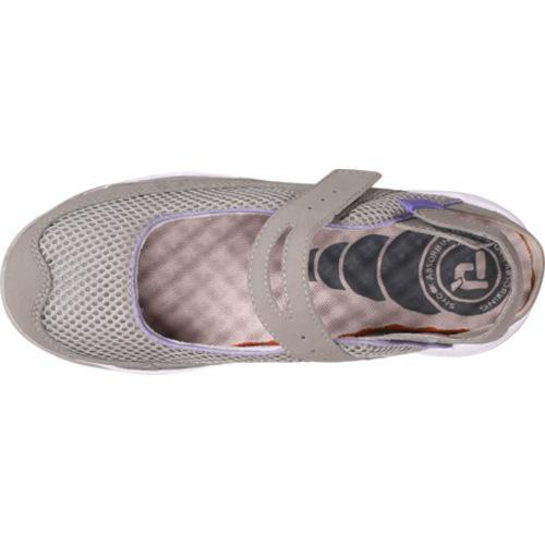 Women's Propet Scamper Light Pebble Gray/Lilac