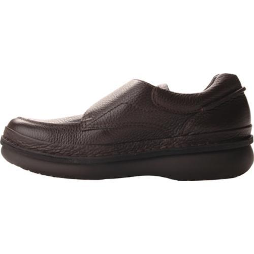 Men's Propet Scandia Strap Dark Brown Grain