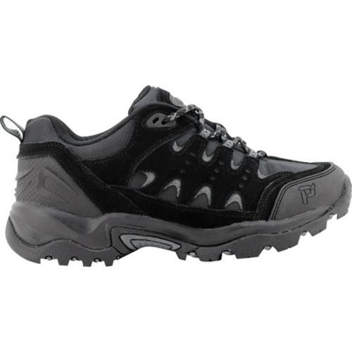 Men's Propet Summit Walker Low Black/Pewter