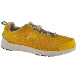 Women's Propet Travel Walker Yellow/White
