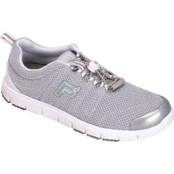 Women's Propet Travel Walker II Silver Mesh