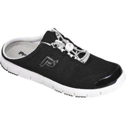 Women's Propet Travel Walker Slide Black Mesh