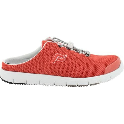 Women's Propet Travel Walker Slide Coral Mesh