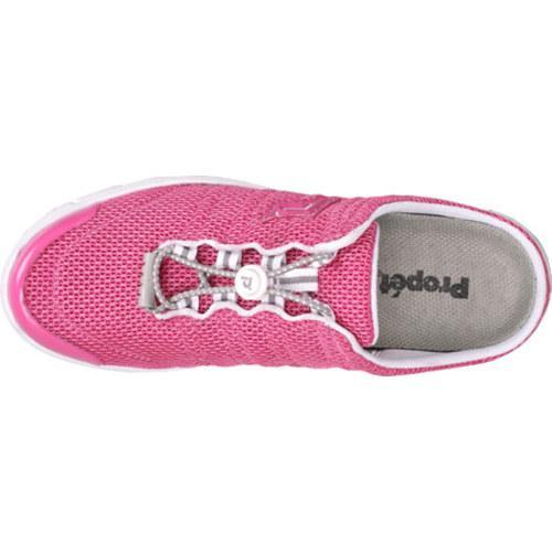 Women's Propet Travel Walker Slide Fuchsia Mesh