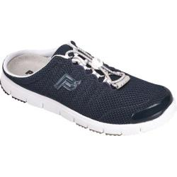 Women's Propet Travel Walker Slide Navy Mesh