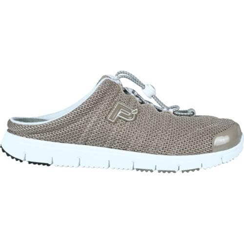 Women's Propet Travel Walker Slide Taupe Mesh