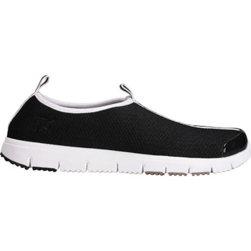 Women's Propet Travel Walker Slip-On Black Mesh