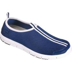Women's Propet Travel Walker Slip-On Navy Stretch Mesh