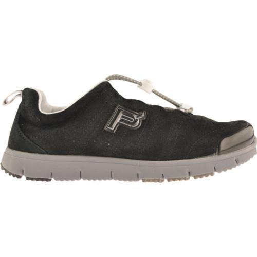 Women's Propet Travel Walker Suede Black