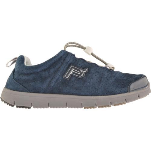 Women's Propet Travel Walker Suede Indigo