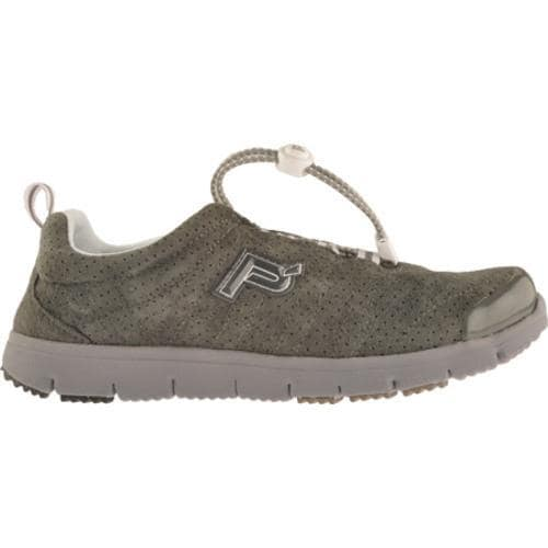 Women's Propet Travel Walker Suede Pewter
