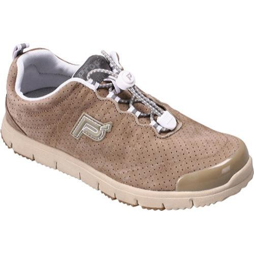 Women's Propet Travel Walker Suede Taupe