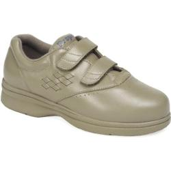 Women's Propet Vista Walker Strap Taupe Smooth